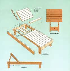 chaise lounge chair plans plans for wood lounge chair free pdf woodworking