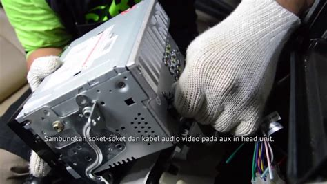 Kabel Kopling Mobil Xenia cara pasang tv mobil tv kabel nexdrive pada toyota avanza dan daihatsu xenia