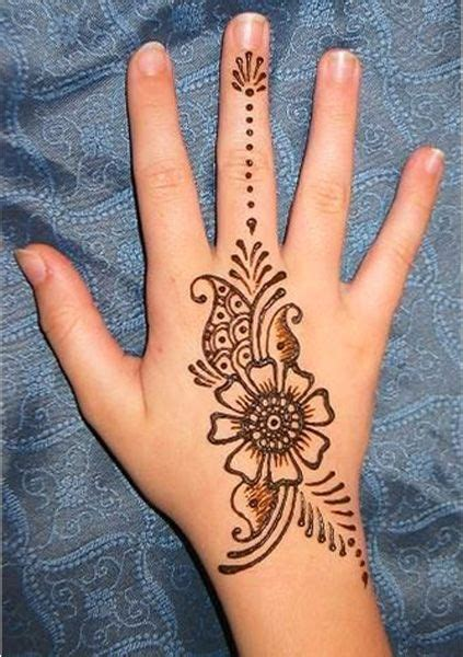 back of hand tattoo designs so beautiful back of the henna design