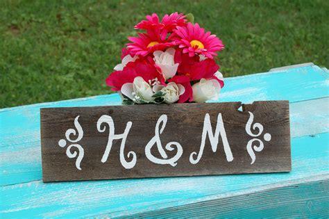 Handmade Wedding Signs - handmade wedding signs from etsy personalized wedding