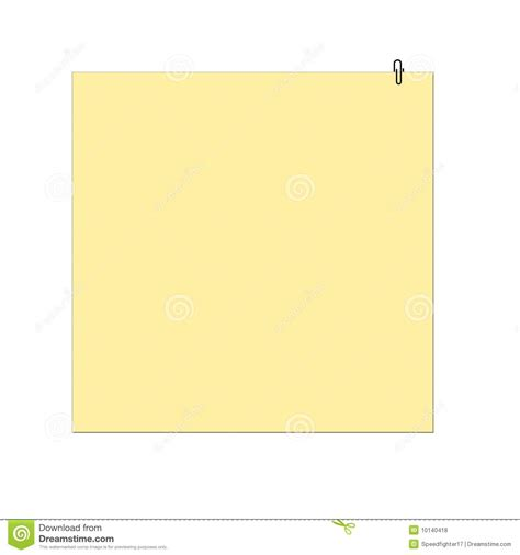 memo pad template memo pad and paper clip royalty free stock photos image