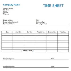 employees timesheet template employee clock in sheet