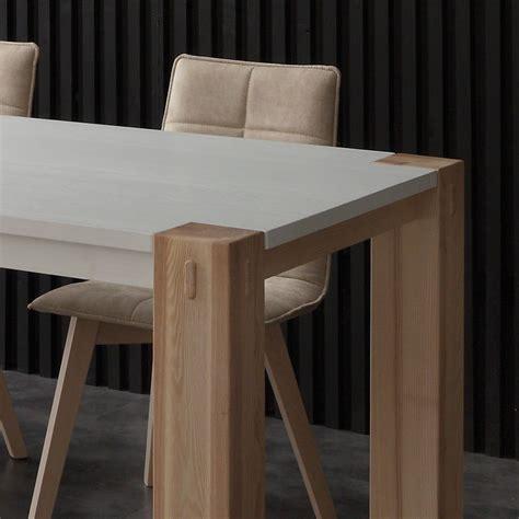 tavoli in legno massello allungabili woods bic tavolo allungabile in legno massello laccato