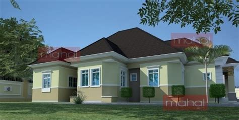 5 bedroom bungalow house plan in nigeria 5 bedroom awesome contemporary nigerian residential architecture