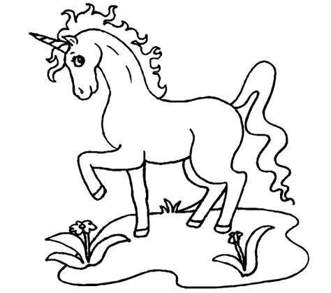 printable unicorn drawing free printable unicorn coloring pages kids