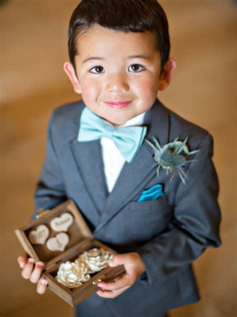 ring bearer welcome to bridal trend