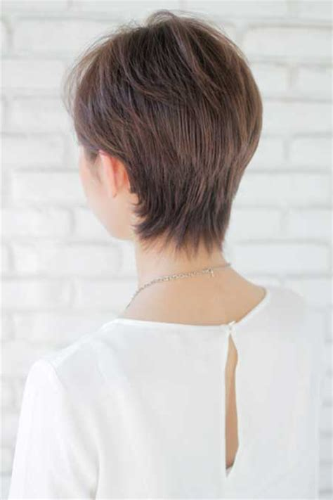 over 50 short hairstyle front and back views short bob hairstyles front back women over 50