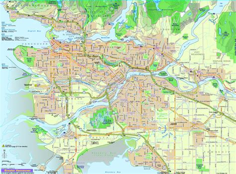 map of vancouver impressum