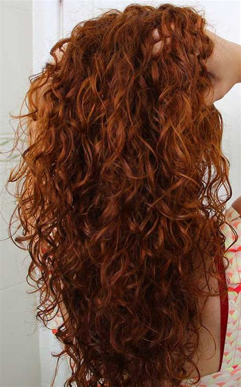 25 Gorgeously Long Curly Hairstyles Crazyforus
