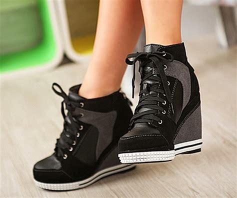 Sepatu Platform Wedges Twelve 12 sepatu high heels ala korea murah high heels ala korea