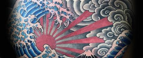 60 japanese wave tattoo designs for men oceanic ink ideas