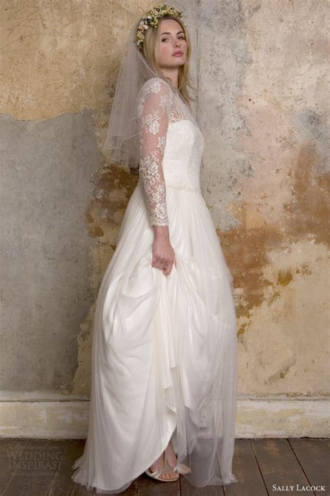 Vintage Inspired Wedding Dresses by Sally Lacock Vintage Inspired Wedding Dress Collection Us212