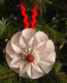 le basteln weihnachtsdeko selber basteln aus papier mit anleitung