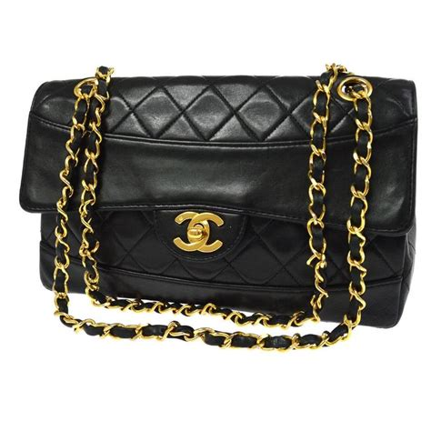 Chanel Evening Lambskin Chain chanel classic black lambskin single chain flap evening shoulder bag for sale at 1stdibs