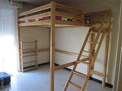 Plan Lit Mezzanine En Bois by Lit Mezzanine Massif Places Offres Octobre Clasf