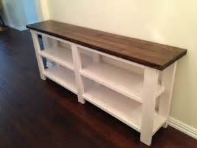 X Console Table Rustic X Console Table Thelotteryhouse
