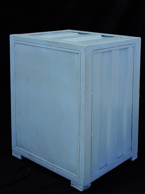 schränke und kommoden container schrank nachttisch kommode im industrielook