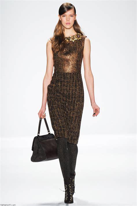 New York Fashion Week Fallwinter 2007 Collections by Badgley Mischka Fall Winter 2014 Collection New York