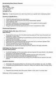 journalism cover letter exles tvnew media producer page1 sle broadcast journalist
