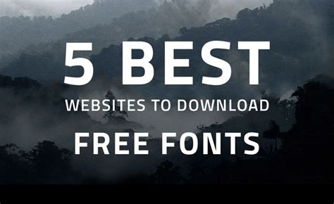 best websites for free fonts 5 best websites to free fonts in 2018
