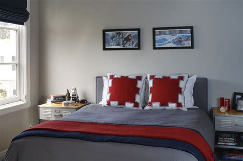 gray boys bedroom red and gray bedroom design ideas
