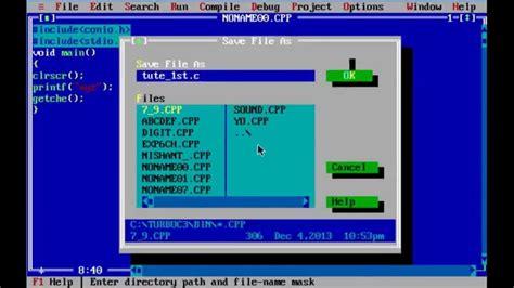 programming c tutorial beginners c c programming for beginners in turbo c tutorial 1