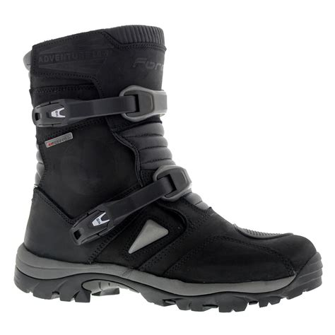 low motorcycle boots forma adventure low black mens performance motorcycle