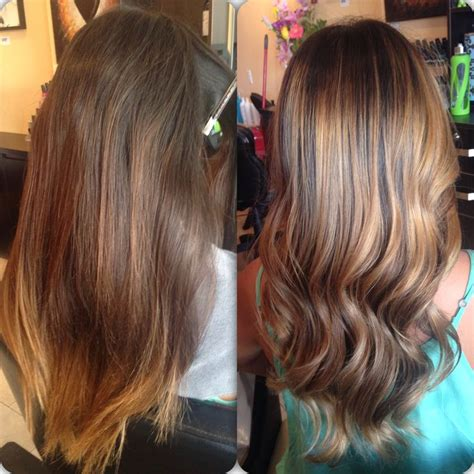 obre to grow out highlights how to grow out highlights into ombre drab to fab