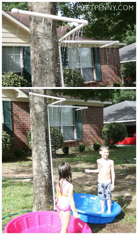 how to make a water slide in your backyard waterpark in my yard with homemade water slide meet penny