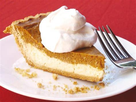 pumpkin cheesecake pie pies pinterest