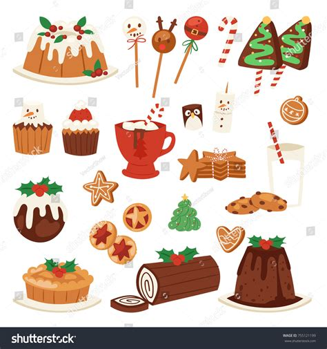 foods traditions dinners desserts cookies traditions songs lores about books food vector desserts decoration stock