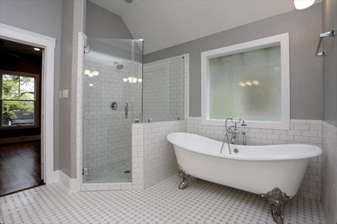 Bathroom With Separate Shower And Bathtub Bathroom With Clawfoot Tub And Separate Shower Bedroom