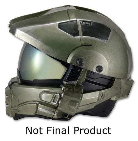 How To Make A Master Chief Helmet Out Of Paper - become master chief with this sweet motorcycle helmet