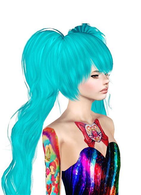 sims 3 anime hair sims 3 ponytail hair memes