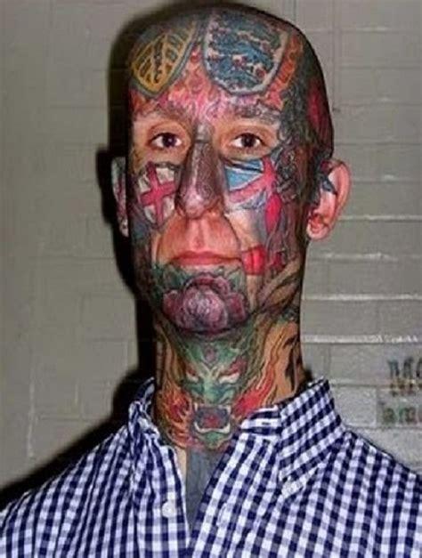 leeds tattoo on head ugliest face tattoos