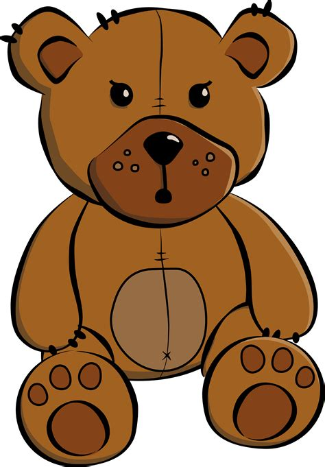 artwork clipart clipartist net 187 clip 187 c oon teddy