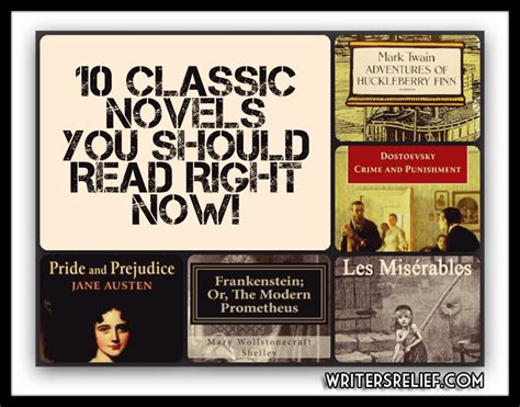 classic novels ten classic novels you should read right now writer s