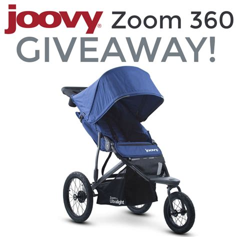 Stroller Giveaway 2017 - joovy zoom360 jogging stroller giveaway ends 7 26 the homespun chics