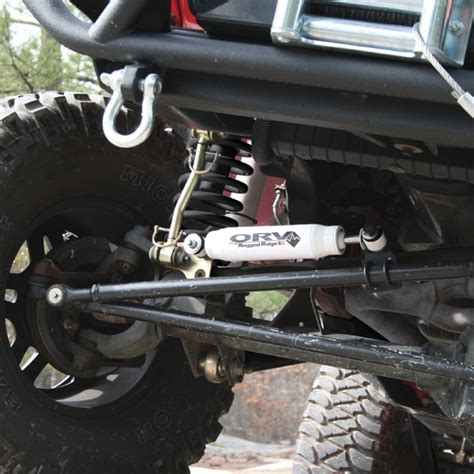 Aftermarket Jeep Accessories Orv By Rugged Ridge Steering Stabilizer 07 16 Jeep
