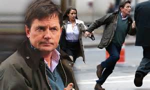 Michael J Fox Slams Limbaughs Shameful Accusations by Look At Michael J Fox Filming His New Series
