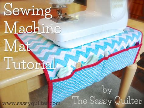sewing mats for tables sewing machine mat tutorial the sassy quilter