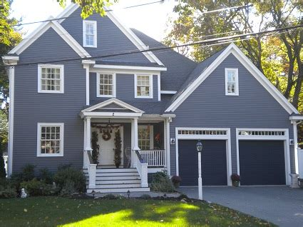 blue gray house color exterior painting by certapro house painters in winchester
