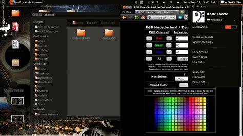 ubuntu themes gnome shell ubuntu shell download linux