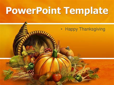 7 Best Images Of Happy Thanksgiving Free Printable Thanksgiving Powerpoint Templates