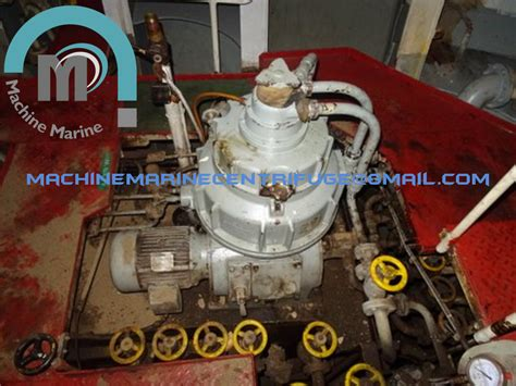Mitsubishi S 10 Oil Purifier Separator Centrifuge Alfa