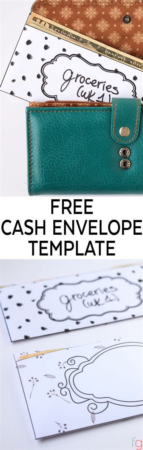 envelope budget system template 1000 ideas about envelope templates on