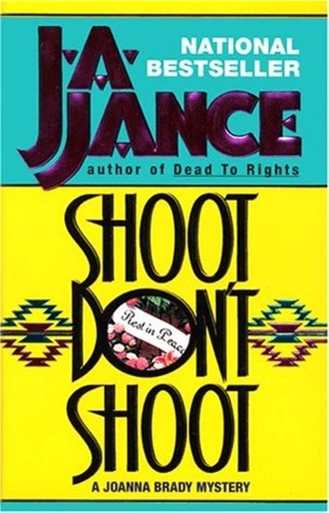 don t shoot the trainer 2 0 books shoot don t shoot joanna brady 3 by j a jance