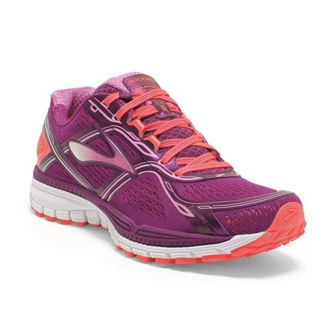 pink running shoes ghost 8 womens running shoes pink fiery coral