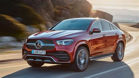 mercedes gle coupe amg gle  debut updated design