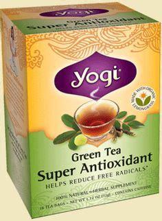 Detox Green Tea Yogi by Yogi Tea Sweet Tangerine Positive Energy Healthy Drinks